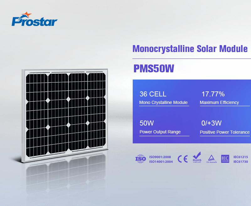 precio de paneles solares 50w 12v