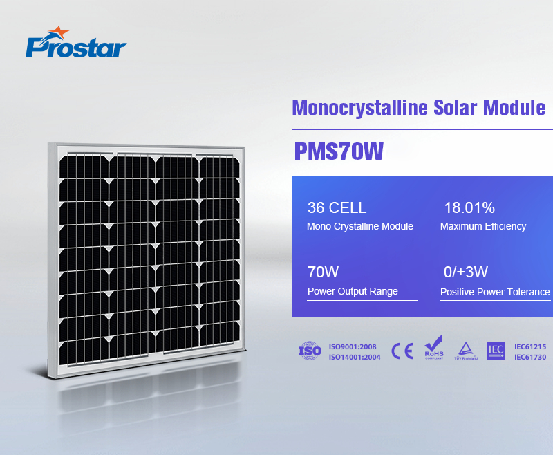 70w paneles solares
