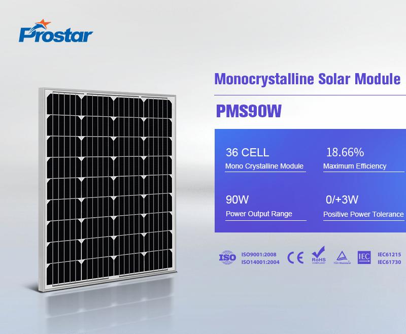paneles solaresfotovoltaicos 90w