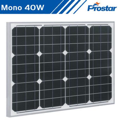 Prostar PMS40W paneles solares 40w 12V monocristalino