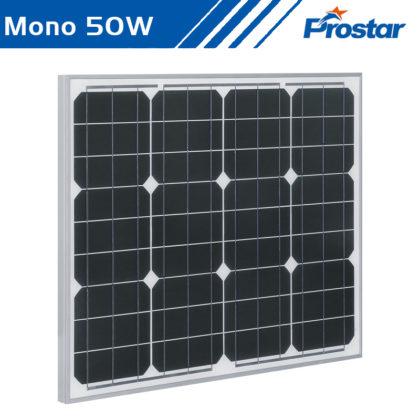 Prostar PMS50W 12v precio de paneles solares 50w mono