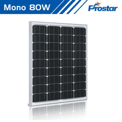 Prostar PMS80W 12v mono fotovoltaica paneles solares 80w