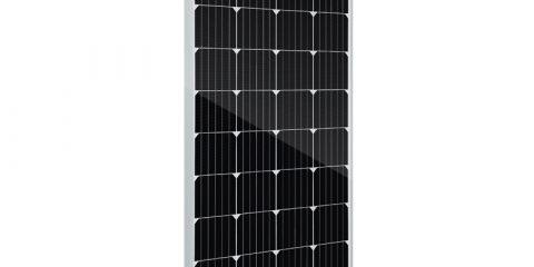 placas solares 120w 12v monocristalino