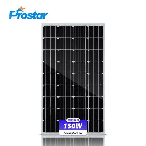 panel solar 150w 12v monocristalino