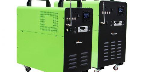onda sinusoidal pura 1000w generador eléctrico solar portátil
