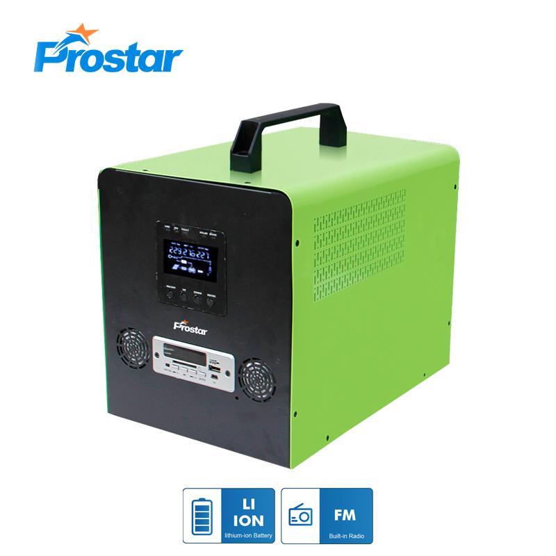 300w generador solar portátil de batería de litio