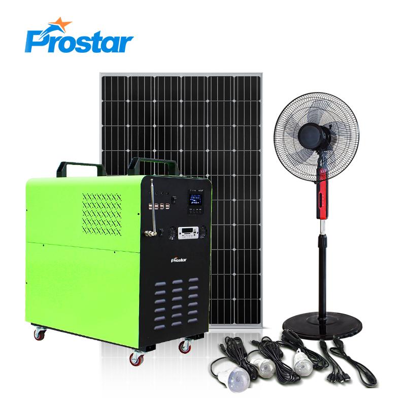 generador de energía solar portátil 3000w
