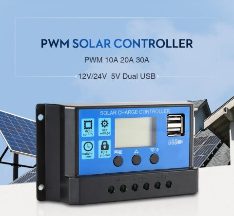 Cómo funciona el regulador de carga solar PWM