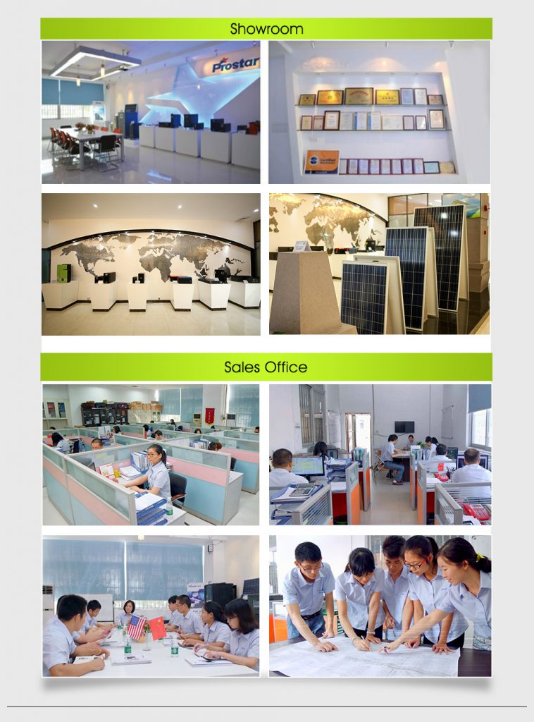 Sala de exposición y oficina Prostar