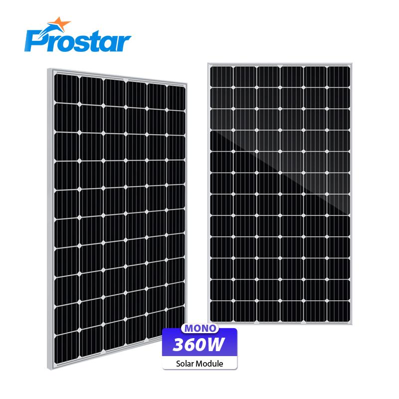 panel fotovoltaico monocristalino 360w precios para casas