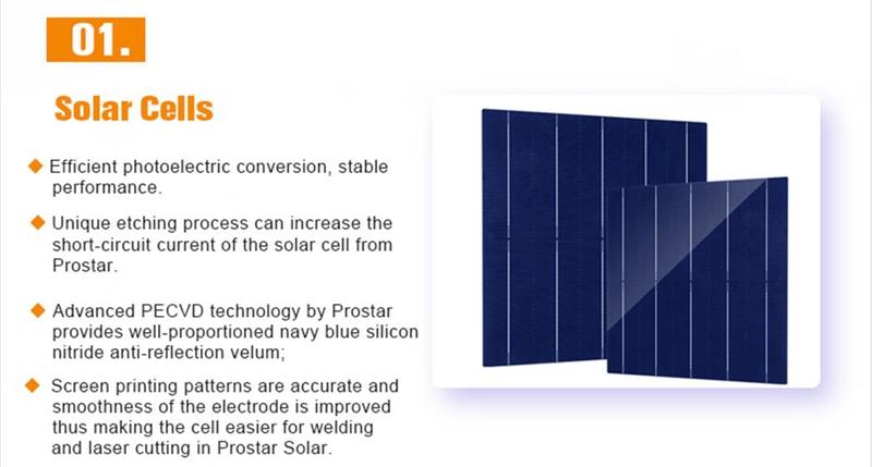 150 watt 12 volt polycrystalline solar panel Prostar PPS150W 150 watt 12 volt polycrystalline solar panel price Poly Solar Cells