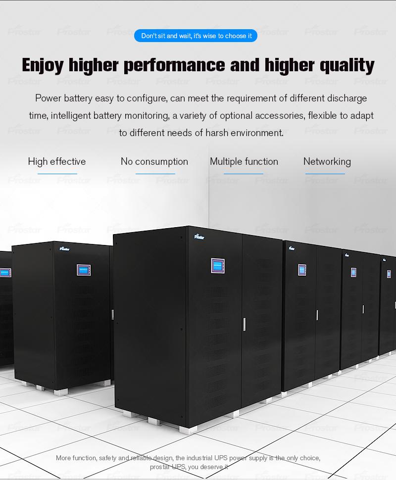 ups 500kva Prostar GT500K 3 phase uninterruptible power supply ups 500kva Prostar 3 Phase Online UPS 400KVA 500KVA Quality