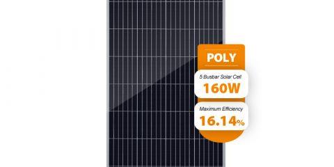 160w 12v solar panel PPS160W