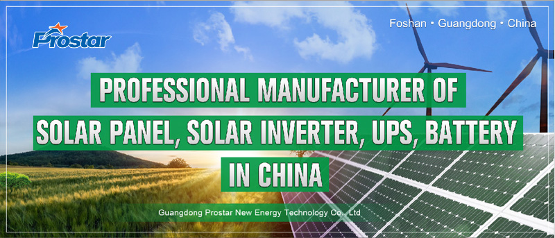 Professional manufacturer of solar panel inverter ups battery in China
