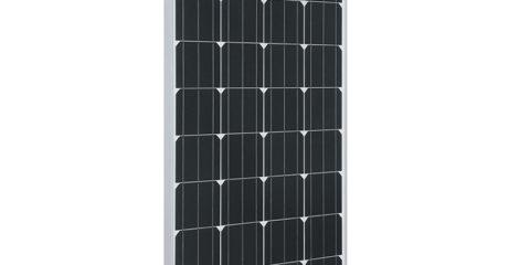 110w monocrystalline solar panel