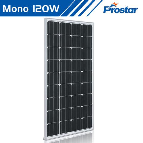 Prostar PMS120W PV 12 volt 120w monocrystalline solar panel price