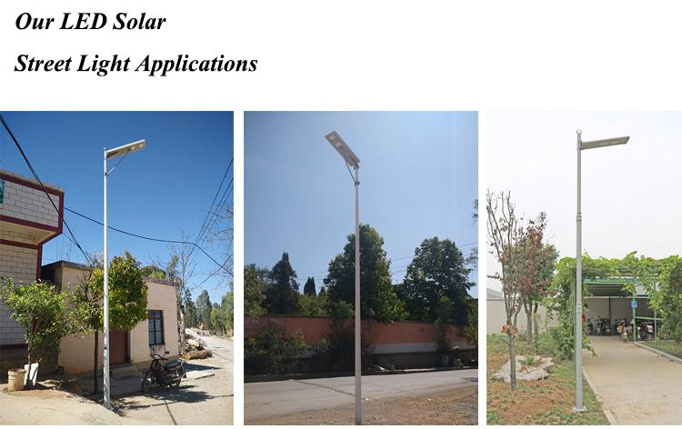 LED Solar Street Light Application