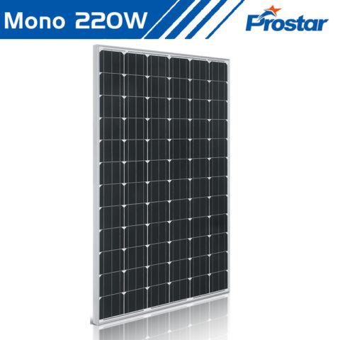 220W solar panels