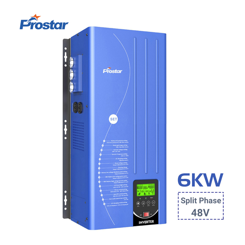 split phase power inverter 6000w
