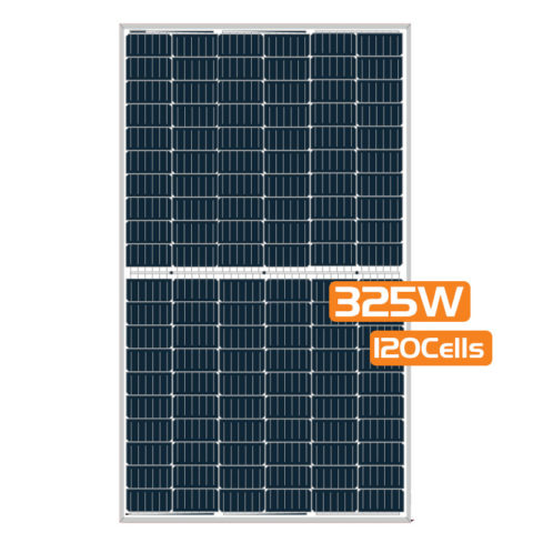 Half-cut Cell Mono PERC Solar Panel 325W 120Cells