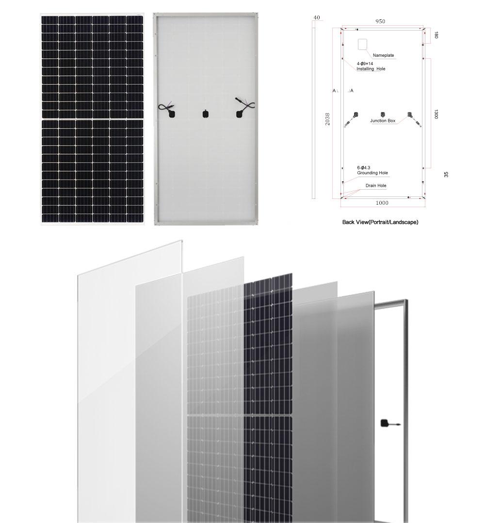 Half-cut Cell Solar Panel