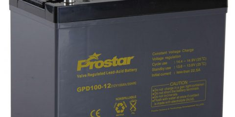 maintenance free sealed 12v 100ah deep cycle battery