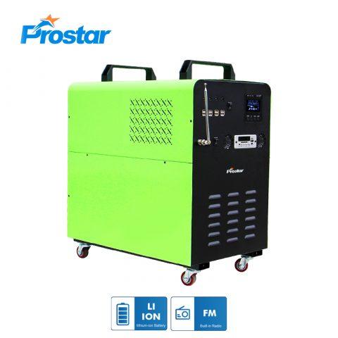 Prostar free energy 24v 2000 watt solar generator lithium power supply