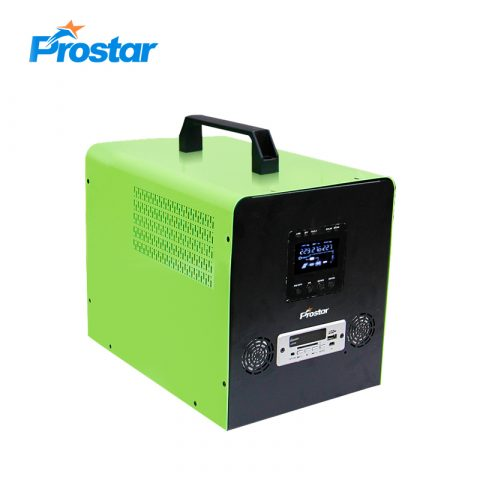 Prostar free energy 12v pure sine wave 500w solar generator portable