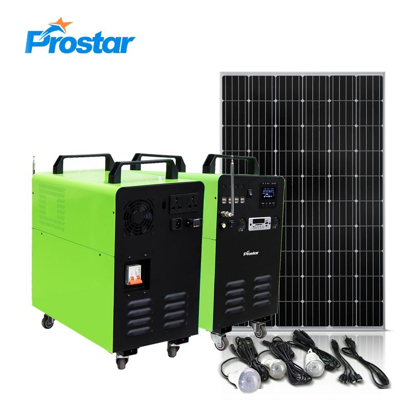 2kw portable solar generator