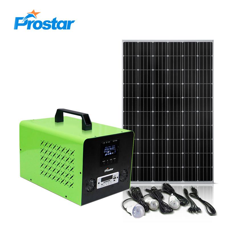 PIP500 portable solar generator 500w