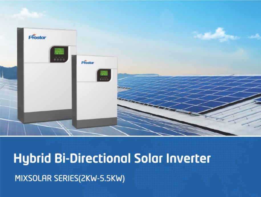 Prostar hybrid solar inverter