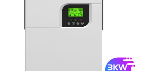 hybrid on off grid 24v 3000w solar inverter charger