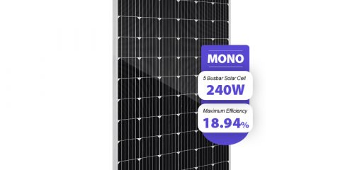 wholesale 24 volt 240 watt solar panel monocrystalline