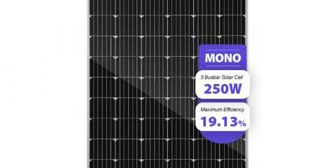 monocrystalline solar cells 24v solar panel 250w price