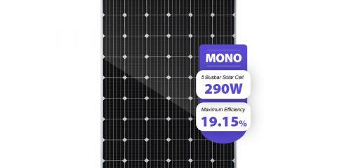 290w solar panel monocrystalline