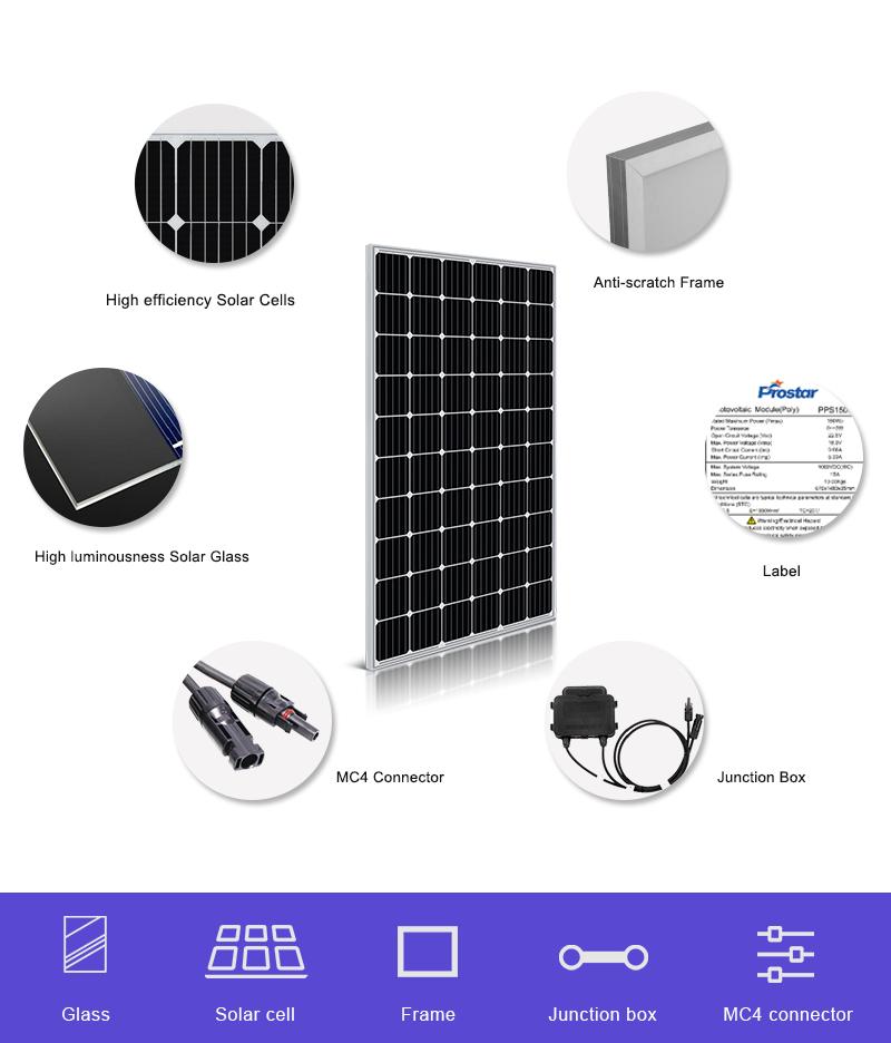 mono 60 cell solar panels 315w