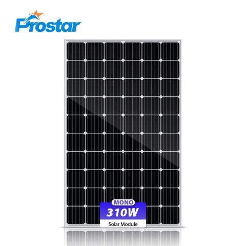 monocrystalline photovoltaic solar module 310w