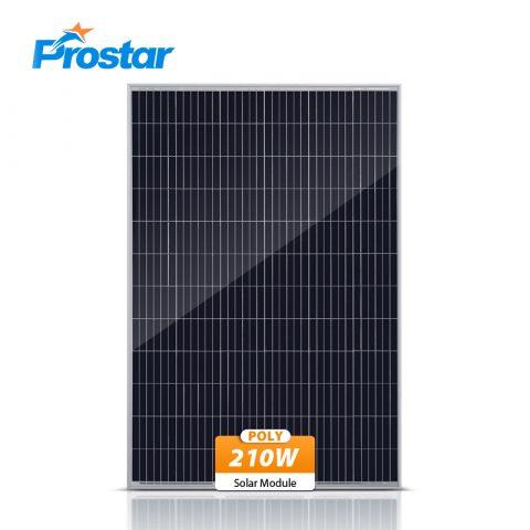 multi-crystalline solar panel 210w
