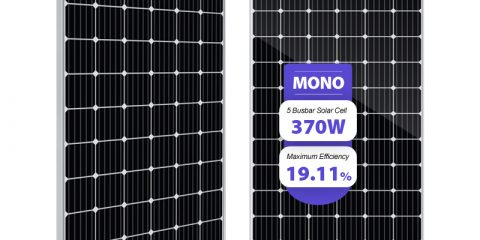 clean energy 370w solar panels monocrystalline