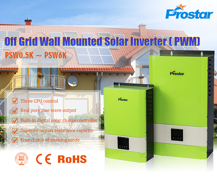 off grid solar inverter with pwm controller
