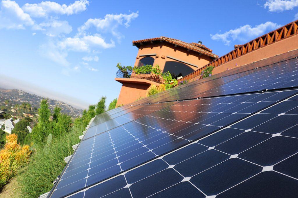 installing solar power system